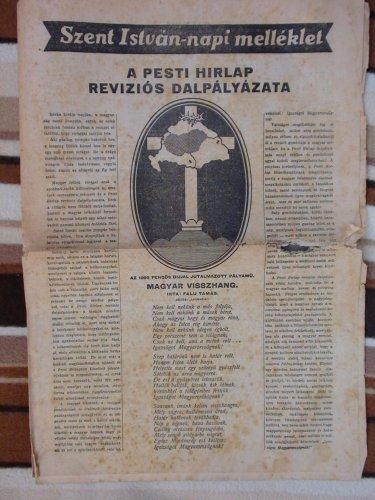 Pesti Hirlap reviziós dalpályázata