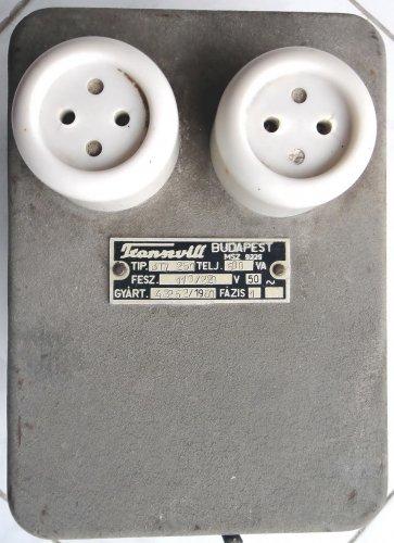 Transzvill BTZ 250 áramátalakító