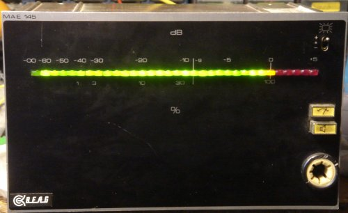 BEAG MAE-145 kivezérlésmérő betét