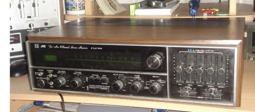JVC 4VR-5414 kvadrofón rádióserősítő