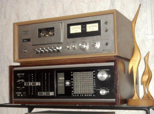 Neckermann 821/853 sztereó rádió-erősítő