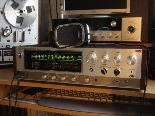 JVC GX-500  kvadrofón receiver
