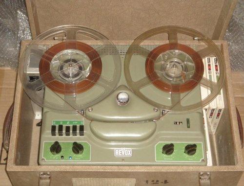 Revox B36 orsós magnetofon