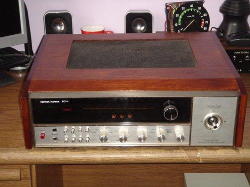 harman/kardon 800+ kvadrofón rádió-erősítő