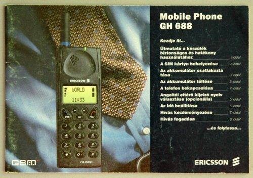 Ericsson GH-688 használati utasítás