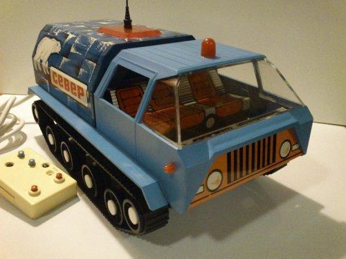 távos orosz lemez teherautó