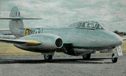 Gloster Meteor T7 WA591