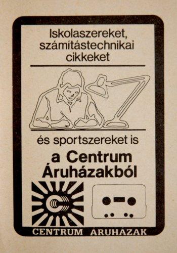 Centrum Áruház reklám