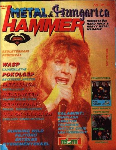 Metal Hammer Hungarica 1989/3