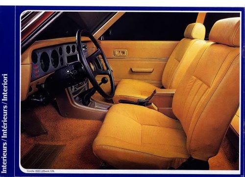Toyota Corolla E5 prospektus - Svájc 1975 - II