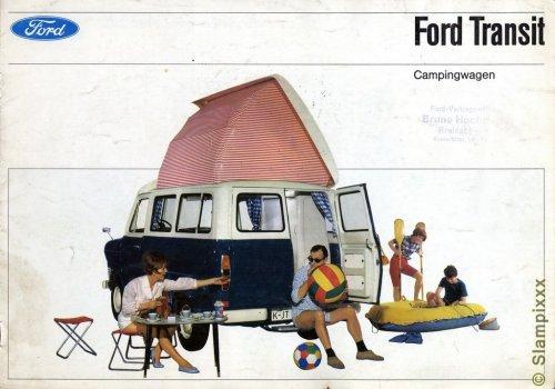 Ford Transit Campingwagen prospektus