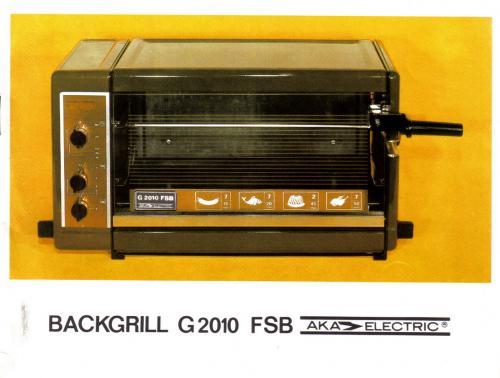 AKA Electric grillsütő G2010