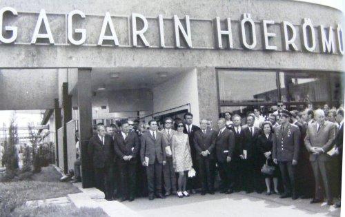 Gagarin hőerőmű avatása
