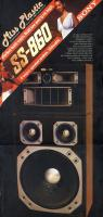 1981/1-es Hifi Magazin Poszter (Sony SS-860)