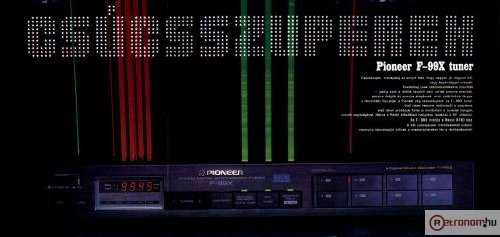 1985/3-as Hifi Magazin Poszter (Audio Research D-76)