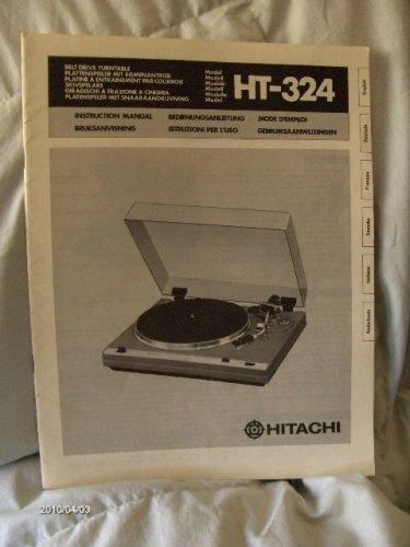 Hitachi lemezjátszó használati útmutató