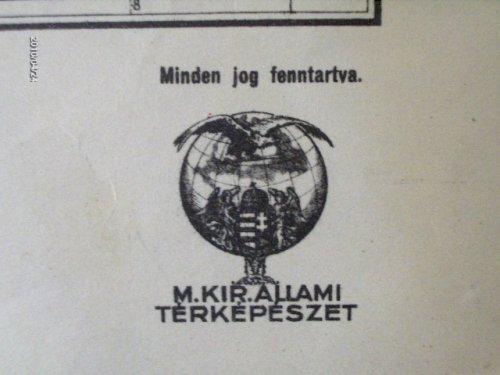 Magyar Királyi Állami Térképészet embléma