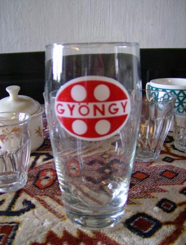 Gyöngy üdítős pohár