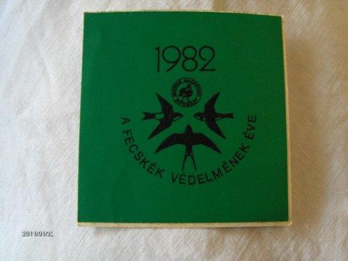 A fecskék védelmének éve - 1982 matrica