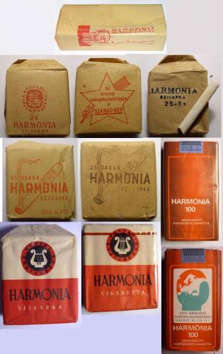 Harmonia cigaretták
