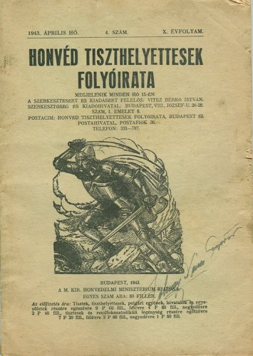 Honvéd tiszthelyettesek folyóirata