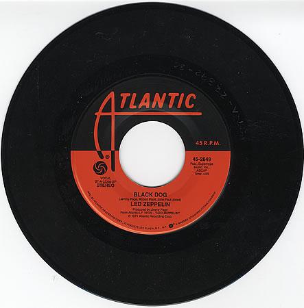 Led Zeppelin - Black Dog kislemez