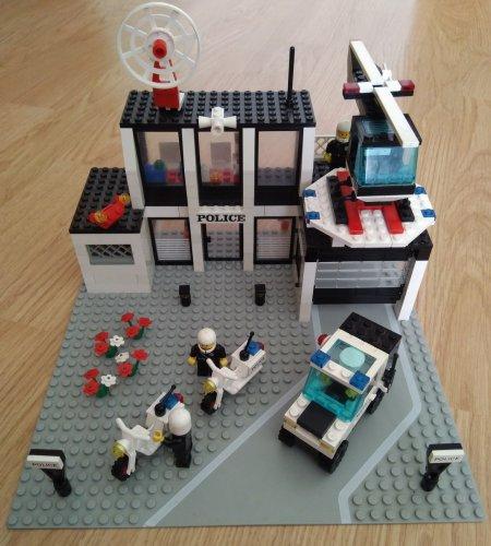 Lego 6386 rendőrőrs