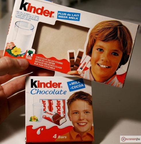 Kinder csokoládé