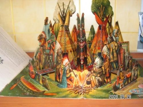 KUBASTA     AN AMERICAN INDIAN CAMP