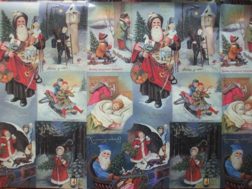 karácsonyi csomagoló papír