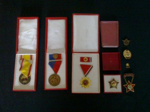 Szocialista Kitüntetések 1950-1980