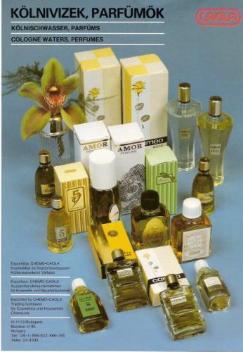 Caola kölnivízek és parfümök