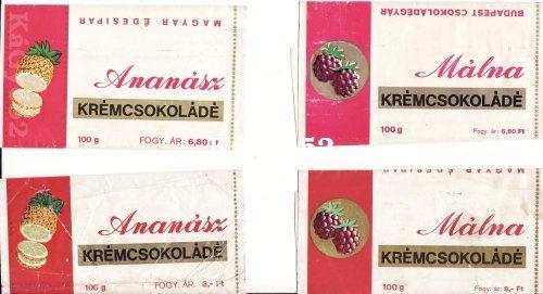 Krémcsokoládé csokipapír