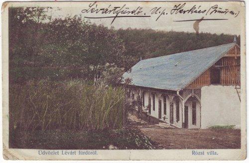 Lévártfürdő képeslap
