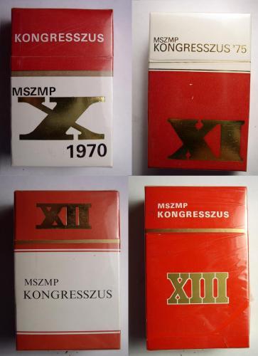 MSZMP cigaretták