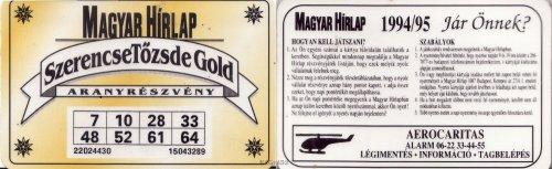 Magyar Hírlap aranyrészvény