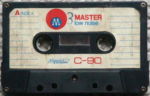 Master kazetta C-90 low noise