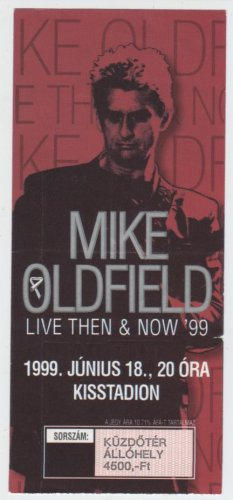 Mike Oldfield koncertjegy