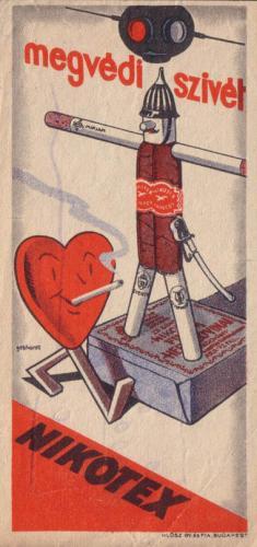 Nikotex cigaretta megvédi a szívet :)