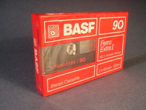 BASF Ferro-extra I 90 kazetta