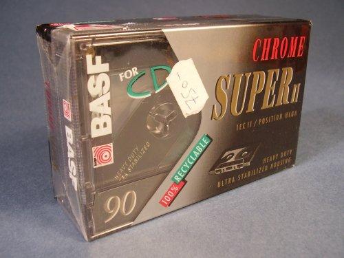 BASF Chrome Super II 90 kazetta