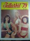 Tollasbál újság 1979 hátlapja a Neoton énekesnőivel