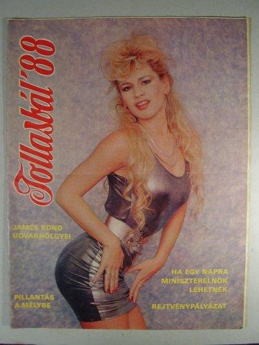 Tollasbál újság 1988 címlapja Bíró Ica