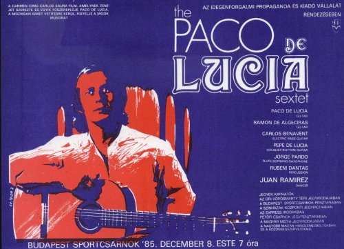 Paco de Lucia miniplakát