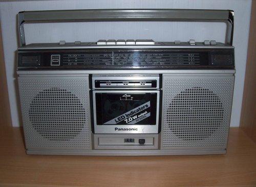 Panasonic RX-5020L rádiómagnó
