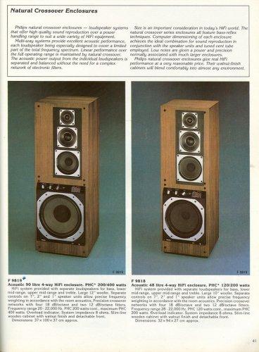 Philips hangfalak a 80-as évekből
