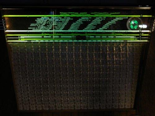 Philips Jupiter BD500A  csöves rádió 1950