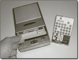 Philips Compact Casette Magnetofon