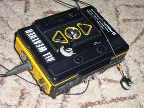 Pioneer walkman PK-5AW