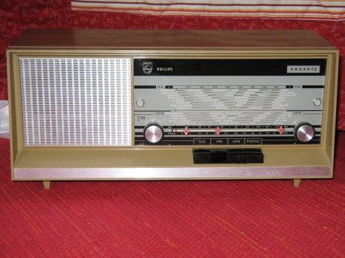 PHILIPS Andante rádió 1967